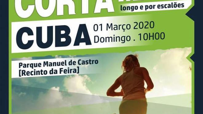 Cuba vai receber Campeonato Distrital de Corta Mato