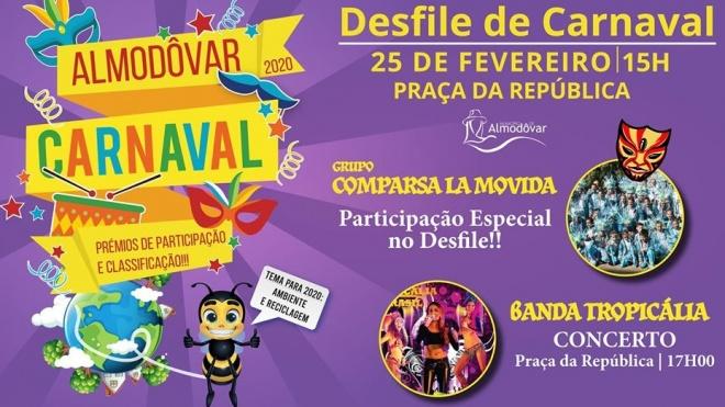 Carnaval de Almodôvar espera centenas de foliões