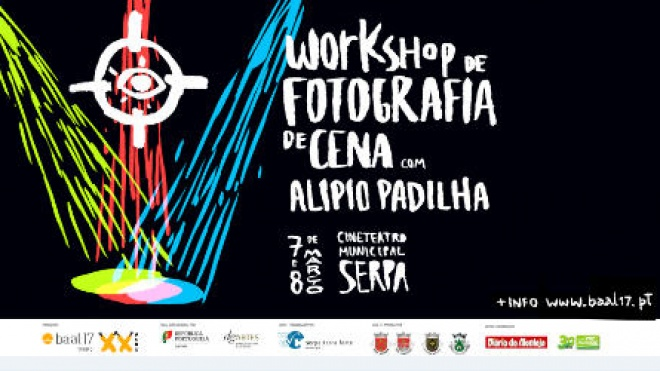 Workshop de Fotografia de Cena com Alípio Padilha