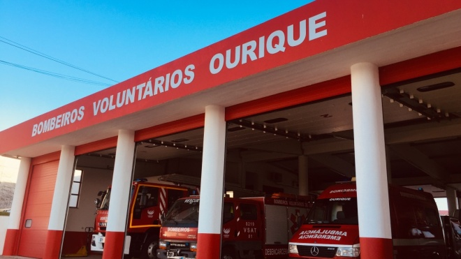 Município de Ourique adia a inauguração das obras de renovação do Quartel dos Bombeiros