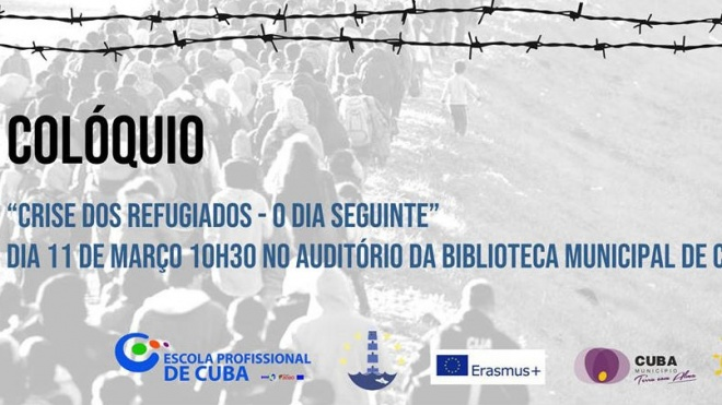 """Escola Profissional de Cuba debate """"Crise dos Refugiados"""""""
