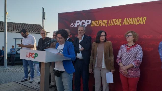 """Jerónimo de Sousa defendeu em Vale de Vargo """"a reposição de freguesias"""""""