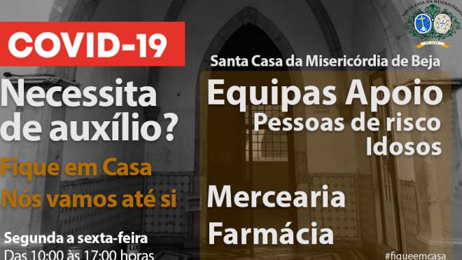 Misericórdia de Beja ajuda população mais vulnerável