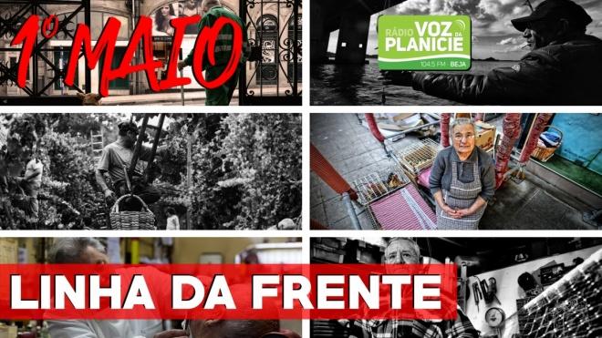 """1º de Maio: trabalhadores de diversos setores na """"linha da frente"""""""