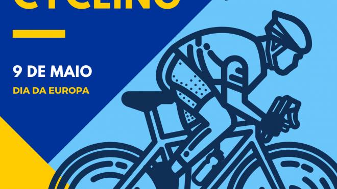 Este sábado, no Dia da Europa, pedala-se 24 horas sem interrupção