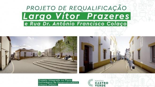 Castro Verde: apresentação online de projectos de requalificação de espaços da vila