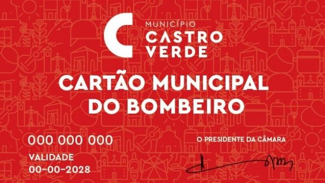 """Autarquia de Castro Verde cria """"Cartão Municipal do Bombeiro"""""""