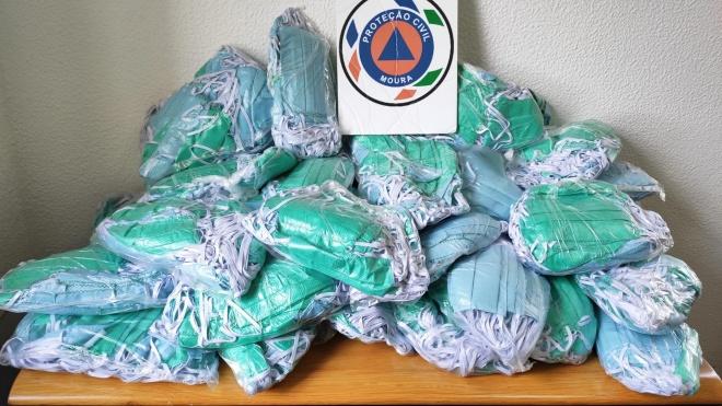 Movimento Moura Solidária entregou cerca de 9 mil máscaras