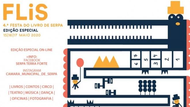 """Festa do Livro de Serpa """"em versão on-line"""""""