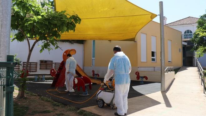 Ourique desinfeta espaços das creches e jardins de infância no concelho