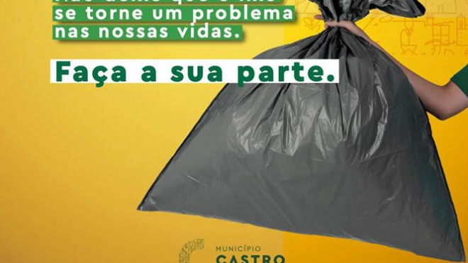 """Castro Verde: autarquia dinamiza campanha """"Lixo tem Lugar Certo"""""""