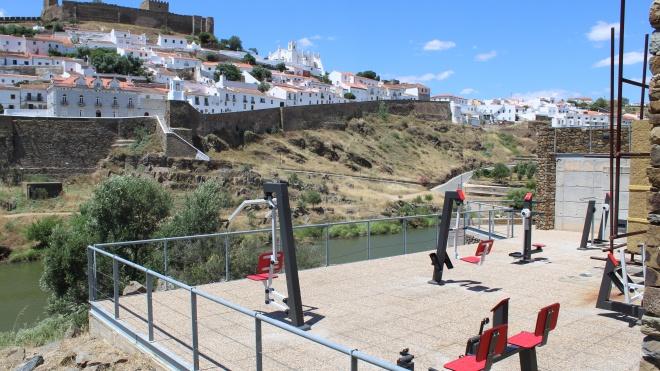 Freguesia de Mértola instala ginásio ao ar livre