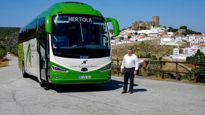 Mértola compra autocarro num investimento superior a 287 mil €