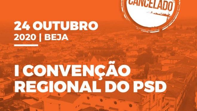 1ª Convenção Regional do PSD cancelada