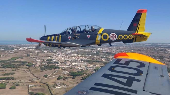 68.º aniversário da Força Aérea: com passagens aéreas por todas as capitais de distrito