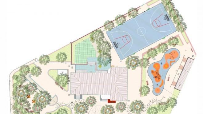 Alvito requalifica zona envolvente da Casa do Povo de Vila Nova da Baronia