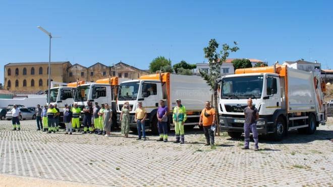 Câmara de Odemira renova frota de viaturas de recolha de resíduos
