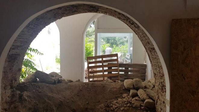 Já começaram as obras no Logradouro do Centro UNESCO