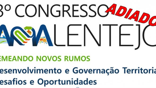 3º Congresso AMAlentejo adiado para 2021
