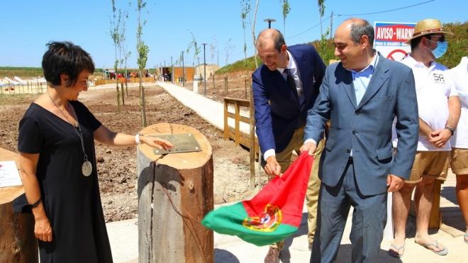 Ministra da Agricultura inaugurou Parque Fluvial dos 5 Reis