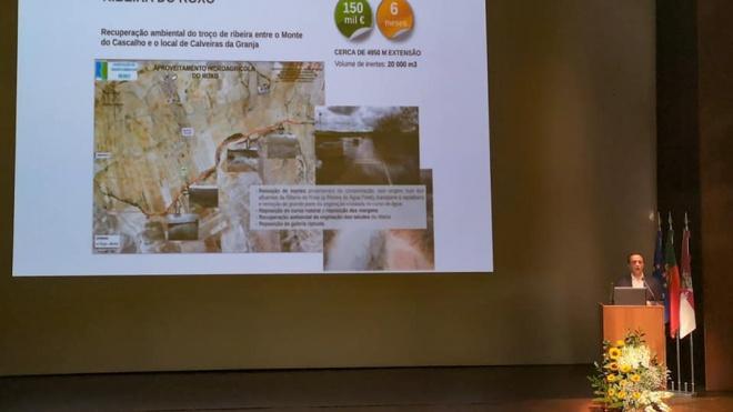 Aljustrel assinou protocolo para a recuperação ambiental da Ribeira do Roxo