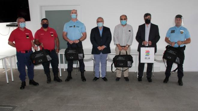 Câmara de Beja recebe equipamentos para higienização das viaturas