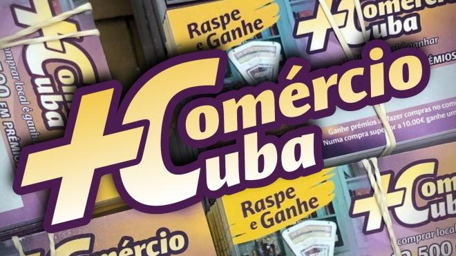 """Município reforça valor das raspadinhas do """"+Comércio+Cuba"""""""