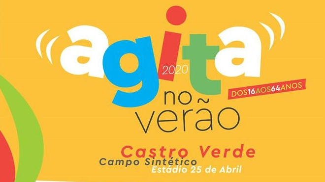 """Castro Verde com inscrições abertas para o """"Agita no verão"""""""