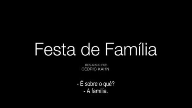 """Pax Julia sugere para esta terça-feira a sessão de cinema """"Festa de Família"""""""