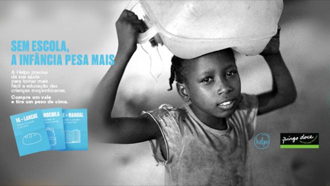 Campanha da Helpo apoia deslocados internos de Moçambique