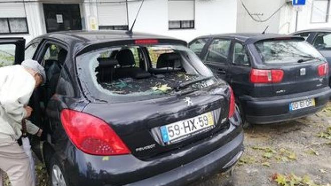 Intempérie fez vários estragos em diversos locais da cidade
