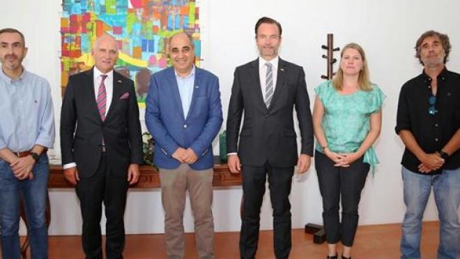 O embaixador da Suíça em Portugal visitou Beja
