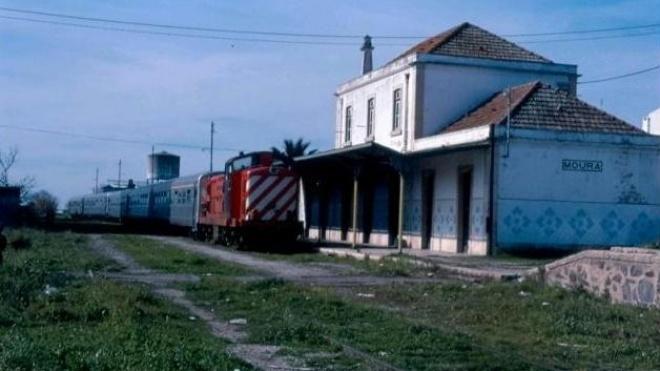 """AR: deputados do PSD querem antigo traçado ferroviário desativado do """"ramal de Moura"""" em ecopista"""