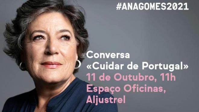 Ana Gomes está hoje em Aljustrel