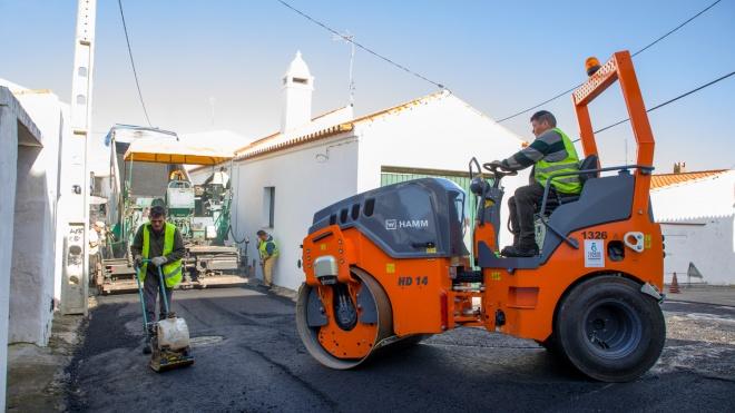 Reabilitação de pavimentos no Concelho de Moura iniciou esta semana