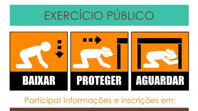 A TERRA TREME 2020 - Exercício Público de Sensibilização para o risco sísmico