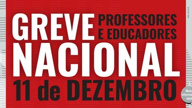 Hoje é dia de Greve Nacional dos Professores e Educadores