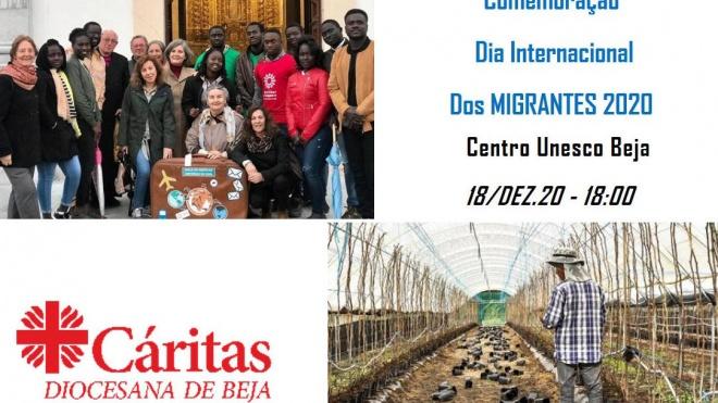 Cáritas Diocesana de Beja assinala o Dia Internacional dos Migrantes