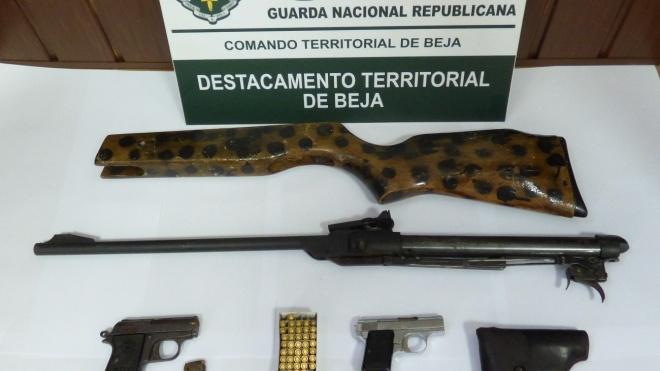 GNR: deteve individuo por posse de armas proibidas