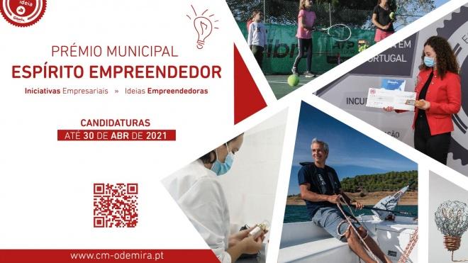 Odemira: inscrições abertas para 6ª edição do Prémio Espírito Empreendedor