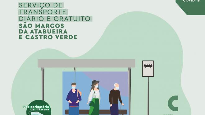 Castro Verde: Câmara cria transporte diário entre São Marcos da Atabueira e a sede de concelho