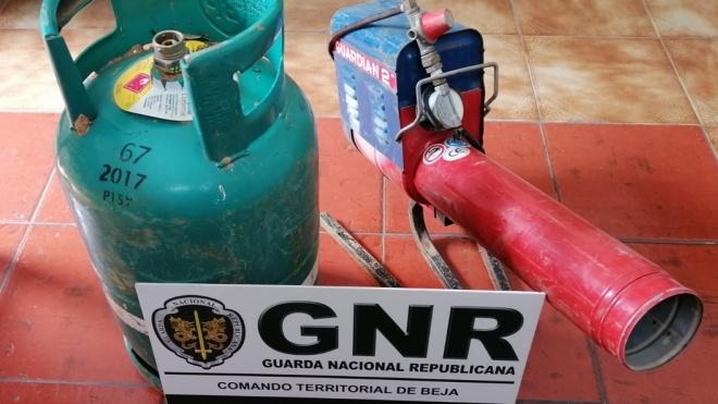 GNR: fez a apreensão de um aparelho agrícola para espantar aves sem licença