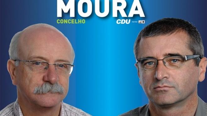 Listas da CDU para o concelho de Moura concluídas