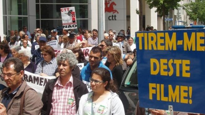 Ervidel: Esteve em Lisboa em defesa do serviço público de correios