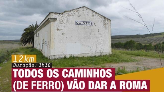 """""""Por Esses Campos Fora"""" em Quintos"""