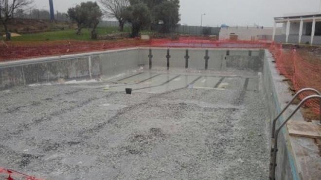 Obras de reabilitação na Piscina Municipal de Alvito