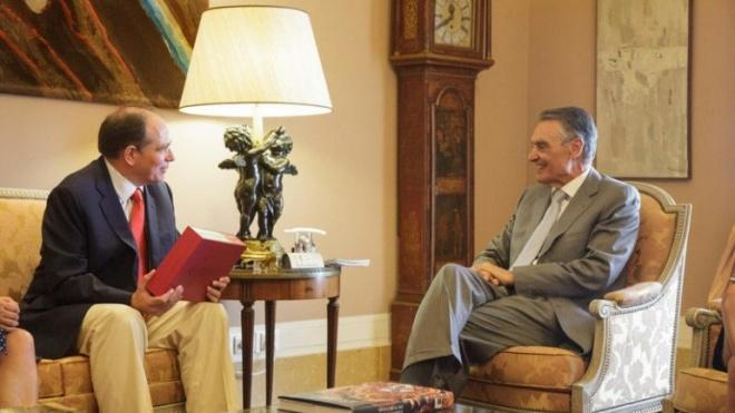 José António Falcão recebido pelo Presidente da República