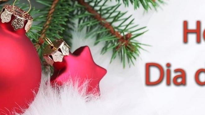 Hoje é dia de Natal