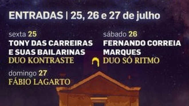 Noites em Santiago terminam hoje em Entradas