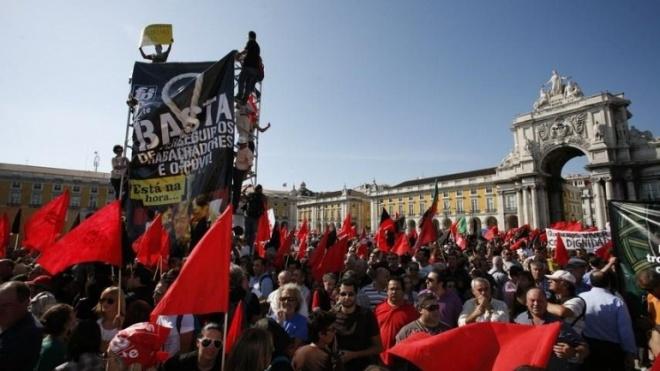 Sindicatos manifestam-se em Lisboa quinta-feira